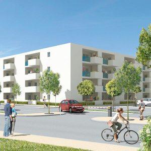 Construction de logements et de bureaux QUARTIER ST-GERMAIN, NARBONNE (11)