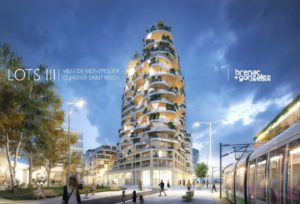 Chantier Higher Roch MONTPELLIER- Construction de 78 logements lot chauffage plomberie